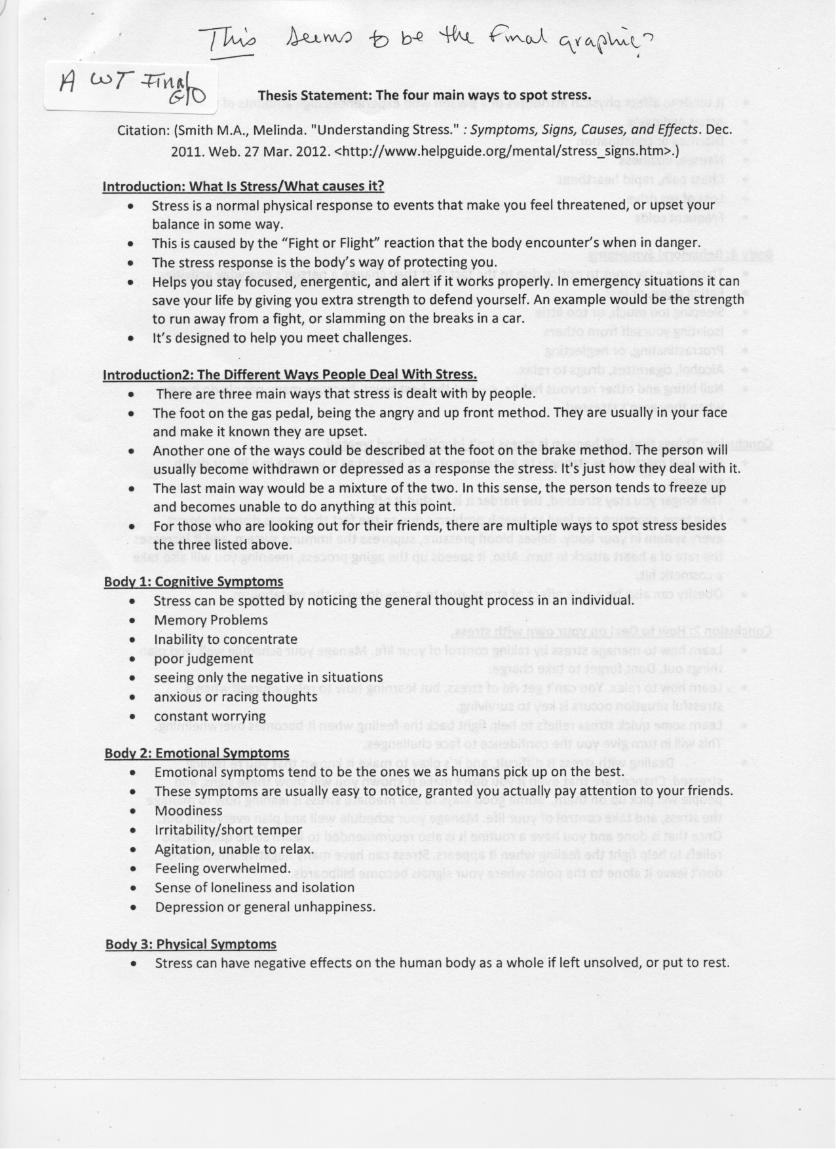 cause and effect essay about stress the causes and effects of  cause and effect example essay cause and effect essay examples